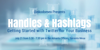Hashtags and Handles: Twitter Class for Newbies