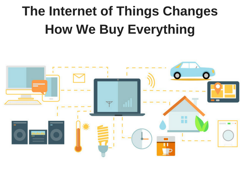 IoT will change business and the buying process along with it